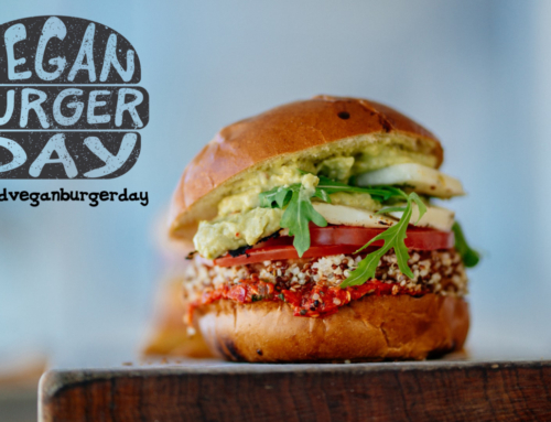Vegan burger day