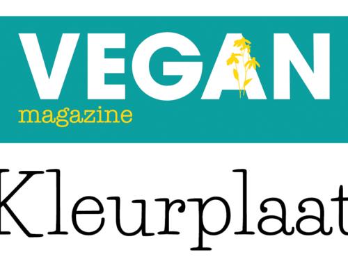 Kleurplaat VEGAN Magazine