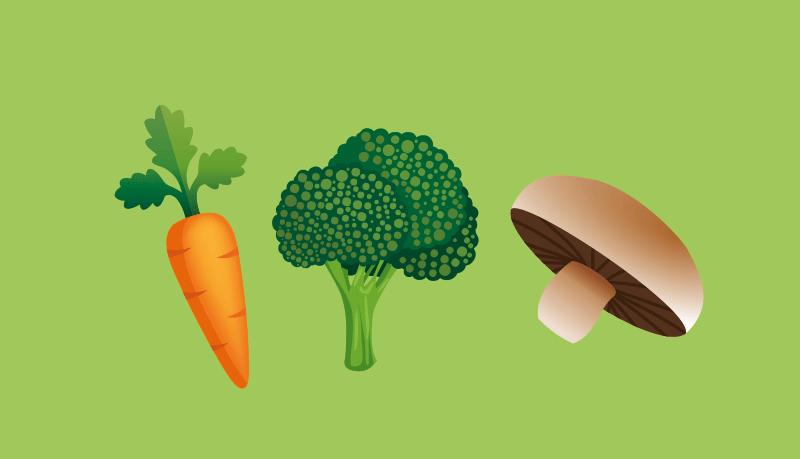 Groenten en bladgroenten